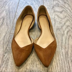 MARC FISHER Leather Flats